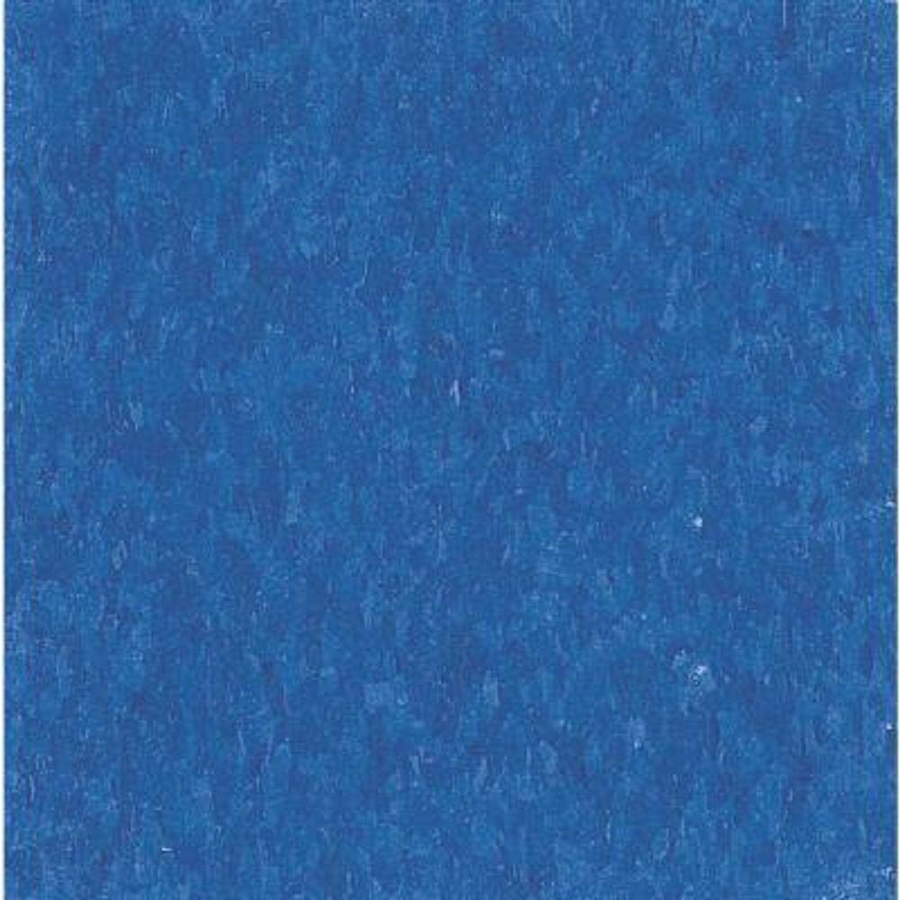 Armstrong Take Home Sample - Imperial Texture VCT Marina Blue Standard Excelon Vinyl Tile - 6 in. x 6 in.