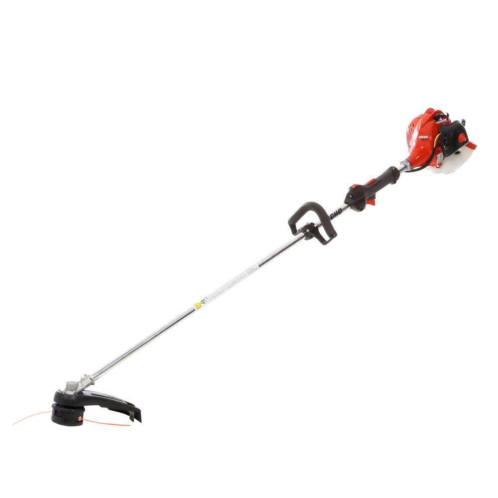ECHO 21.2 cc Gas 2-Stroke Cycle Straight Shaft Trimmer-SRM-225 - The Home  DepotThe Home Depot