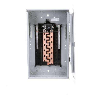 PL Series 100-Amp 24-Space 24-Circuit Main Breaker Indoor Load Center