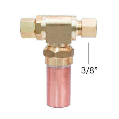 3/8 in. x 3/8 in. Water Hammer Arrestor Compression Tee