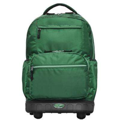 Melody 19 in. Green Rolling Backpack