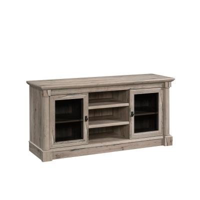 Palladia 59 in. Slit Oak Composite TV Stand Fits TVs Up to 60 in. with Storage Doors