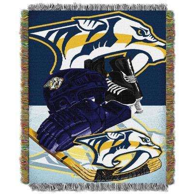 Predators Multi Color HIA Tapestry Throw