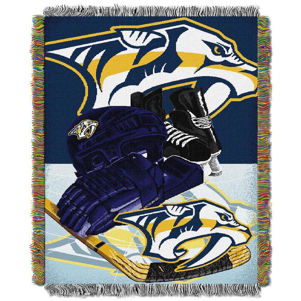 Predators Multi Color HIA Tapestry Throw