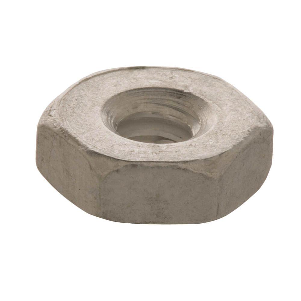 #8-32 tpi Aluminum Machine Screw Nut (3-Piece)