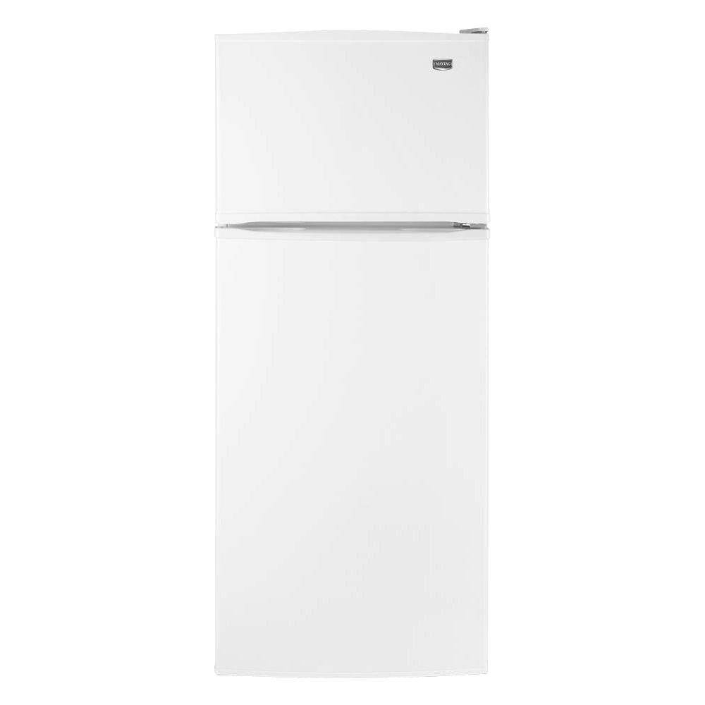 Maytag 17.5 cu. ft. Top Freezer Refrigerator in White