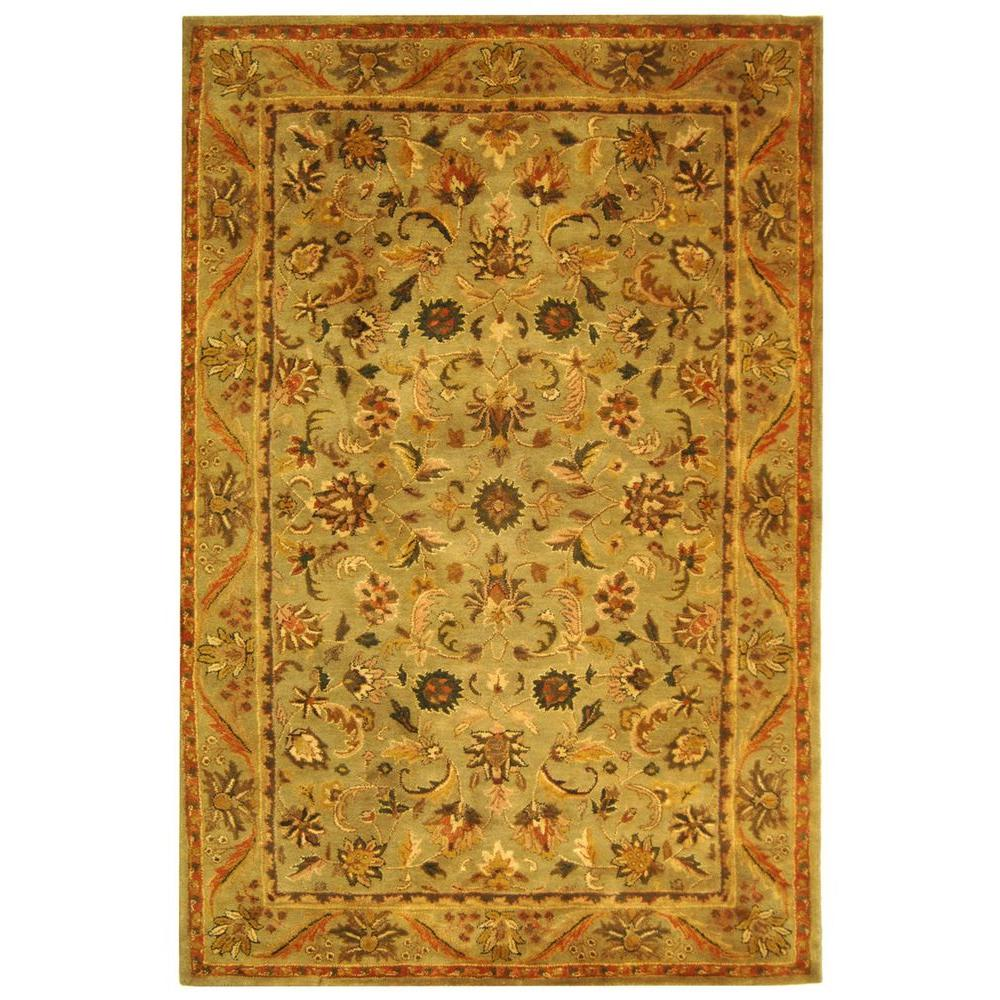 Safavieh Antiquity Olive/Gold (Green/Gold) 5 ft. x 8 ft. ...
