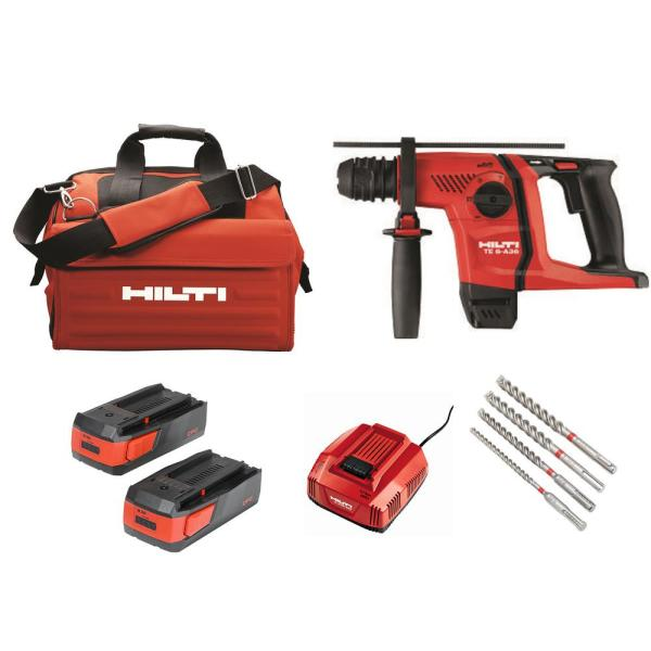 36-Volt Lithium-Ion 1/2 in. SDS Plus Cordless Rotary Hammer TE 6-A36 Compact Kit