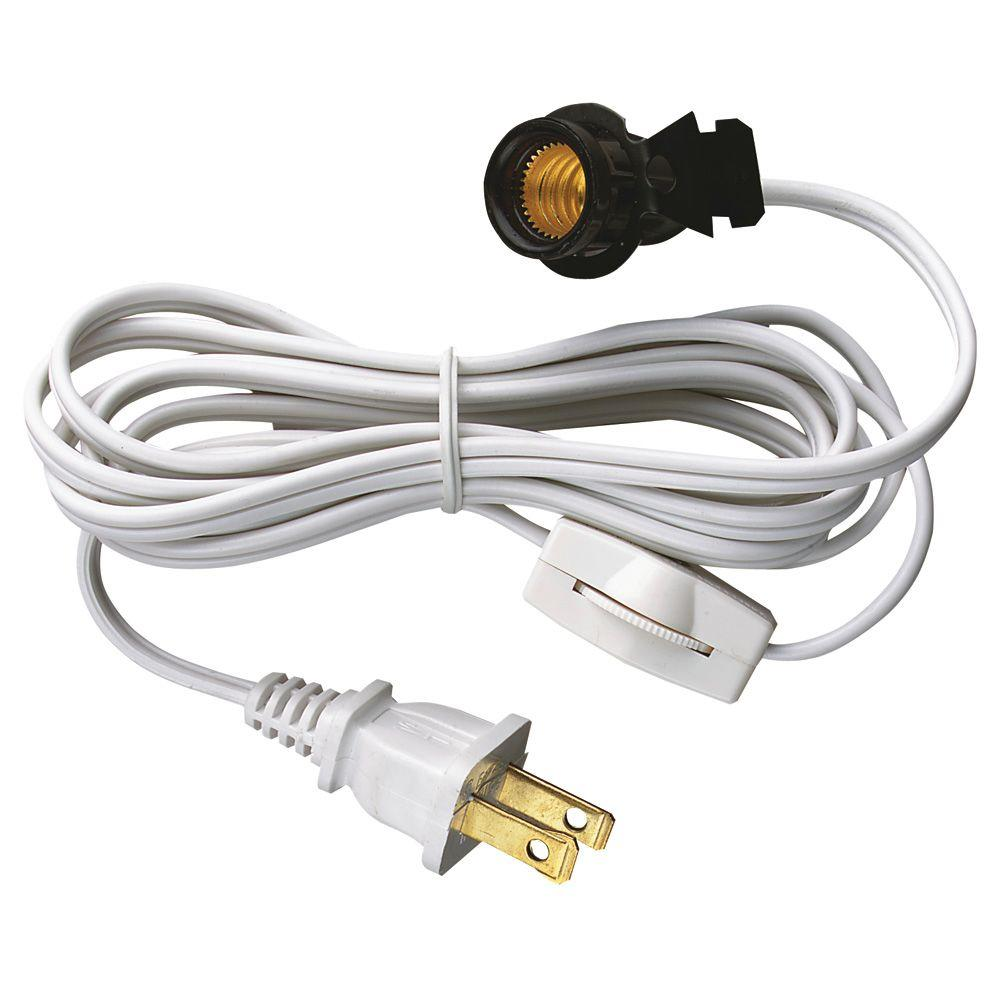 Westinghouse 6 Ft Cord Set With Snap In Pigtail