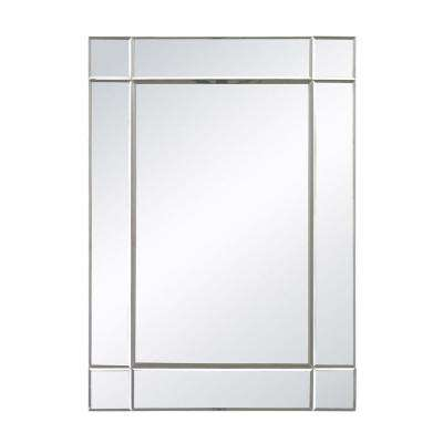 Blair 28 in. x 20 in. Mirror Glass Framed Mirror