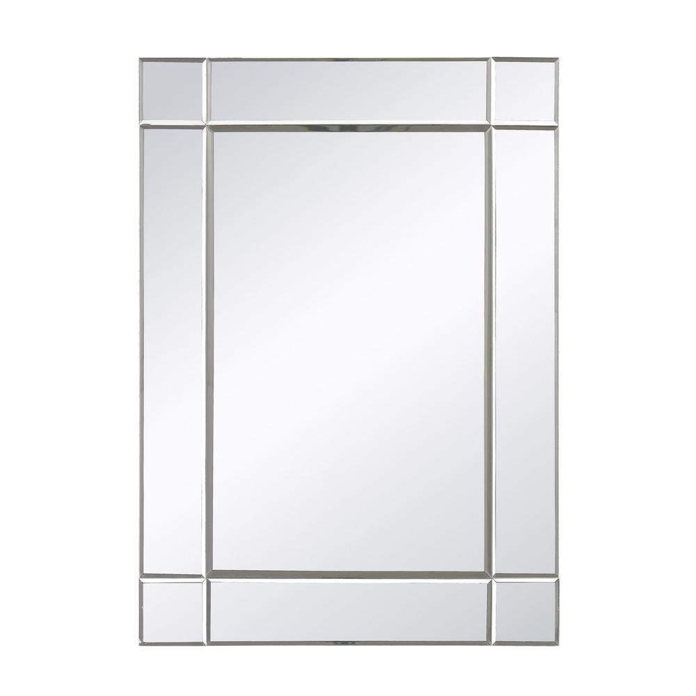 Blair 28 in. x 20 in. Mirror Glass Framed Mirror