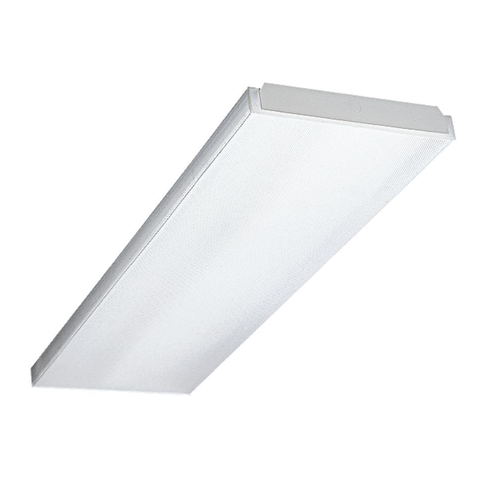 Metalux Metalux 4-Light 4 ft. White Wraparound Light