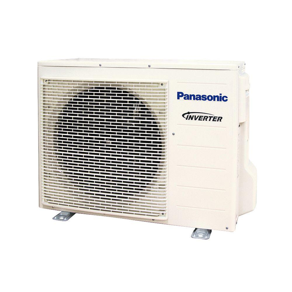 Panasonic 12 000 btu 1 ton ductless mini split air for Ductless ac
