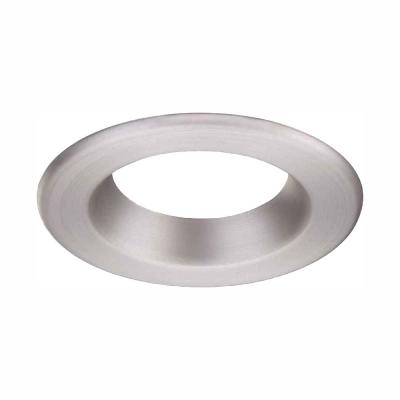 4 in. Brushed Nickel Recessed Can Light LED Trim Ring