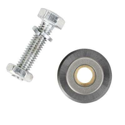 7/8 in. Tungsten-Carbide Tile Cutter Wheel with Ball Bearings for 10600