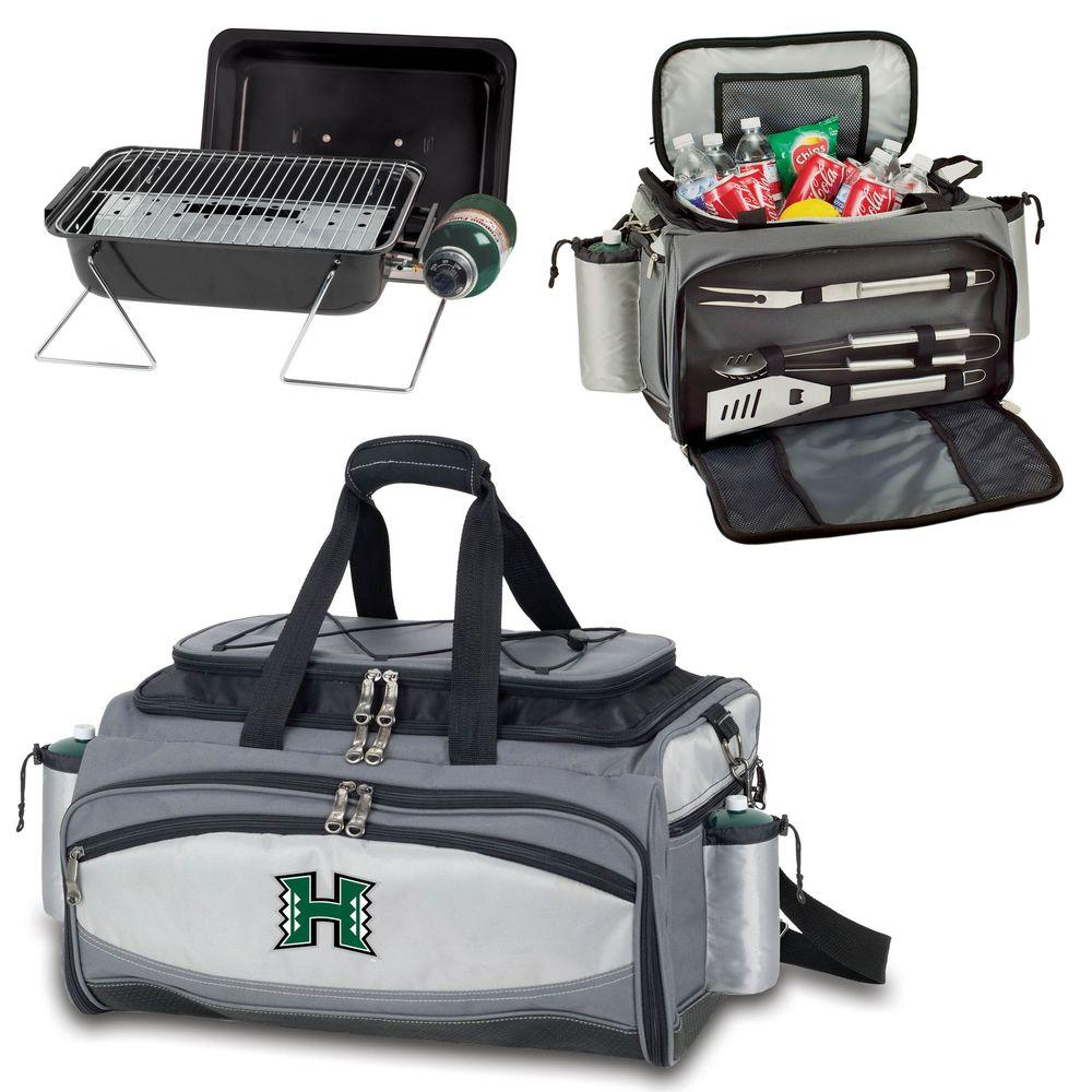 Vulcan Hawaii Tailgating Cooler and Propane Gas Grill Kit with Digital