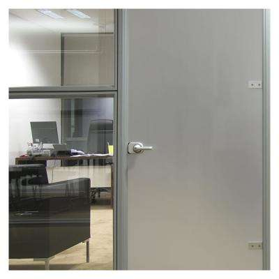 36 in. x 12 ft. MTSIL Silver Matte Frosted Privacy Window Film