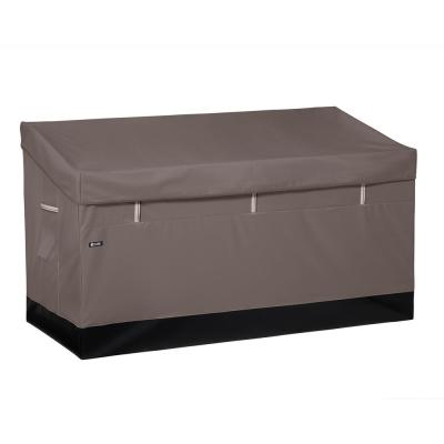 Ravenna 162 Gal. Weatherproof Outdoor Storage Deck Box in Dark Taupe