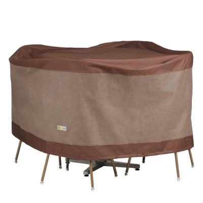 Ultimate 56 in. Dia x 29 in. H Round Table and Chair Set Cover