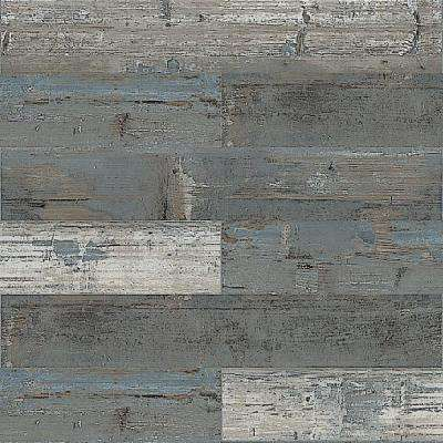 COLORS Floor and Wall DIY Rumba Wood Aged 6 in. x 36 in. Painted Style Glue Down Luxury Vinyl Plank (30 sq. ft. / case)