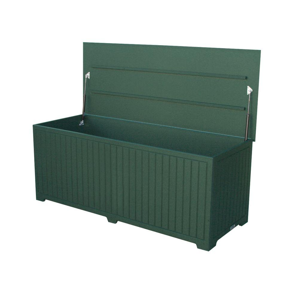 Sydney 110 Gal. Extra Large Green Recycled Plastic Commercial Grade Big