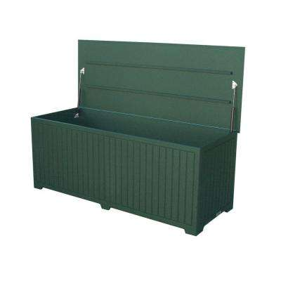 Sydney 110 Gal. Extra Large Green Recycled Plastic Commercial Grade Big Deck Box