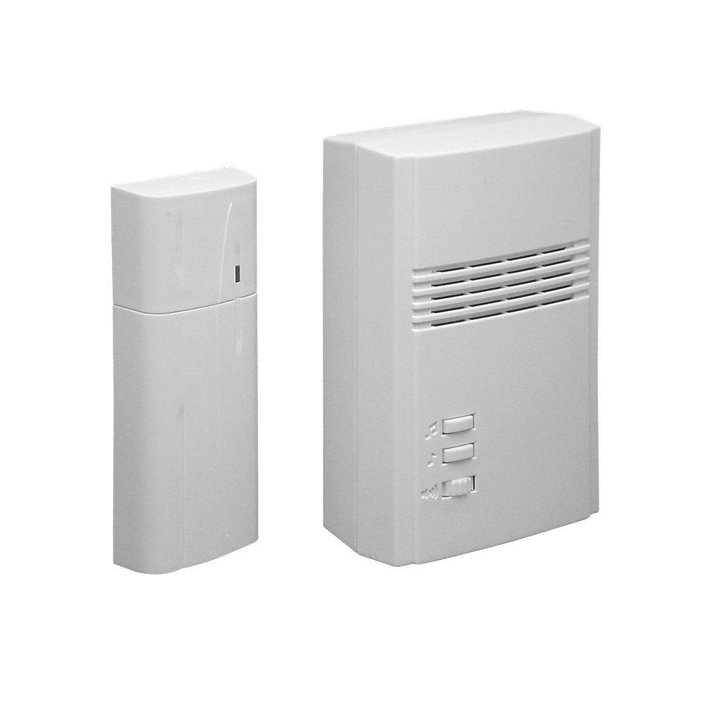 IQ America Wireless Plug-In Remote Door Chime Extender Kit