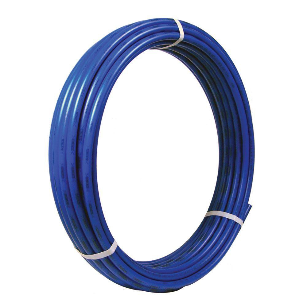 sharkbite 3 8 in x 100 ft blue pex pipe u855b100 the home depot