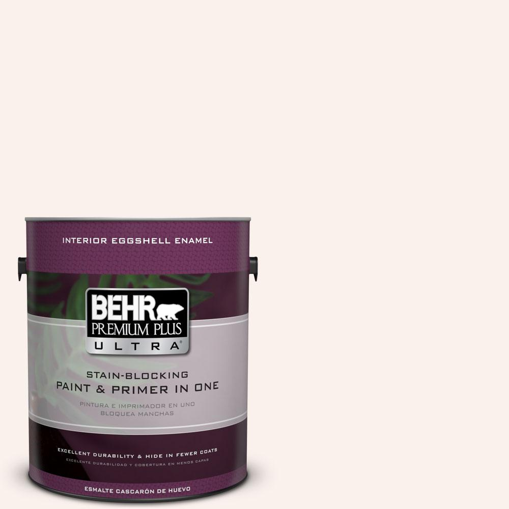 BEHR Premium Plus Ultra 1-gal. #RD-W9 Shea Eggshell Enamel Interior Paint