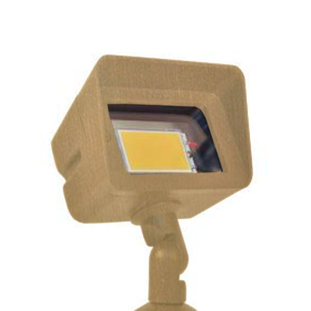 Filament Design Centennial Outdoor LED Acid Treated Brass Directional Light