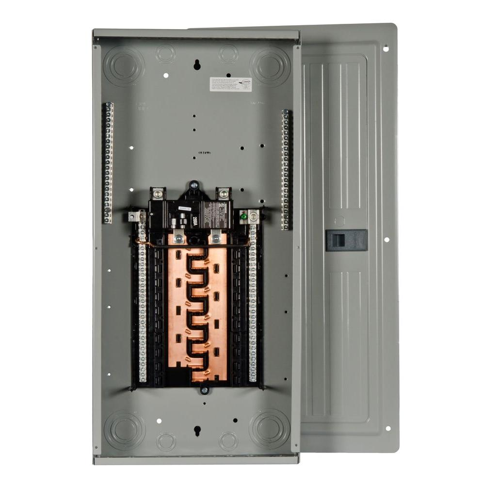 Siemens PL Series 200 Amp 20-Space 40-Circuit Main Breaker Indoor Load Center