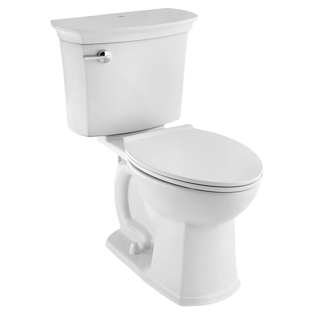 American Standard VorMax ActiClean 2 Piece 128 GPF Single Flush Elongated Toilet In White 714AA154020