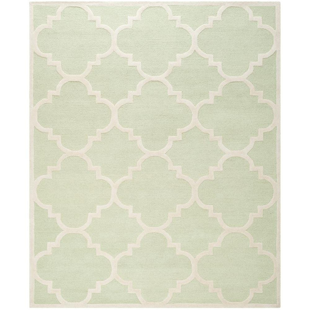 Cambridge Light Green/Ivory 8 ft. x 10 ft. Area Rug