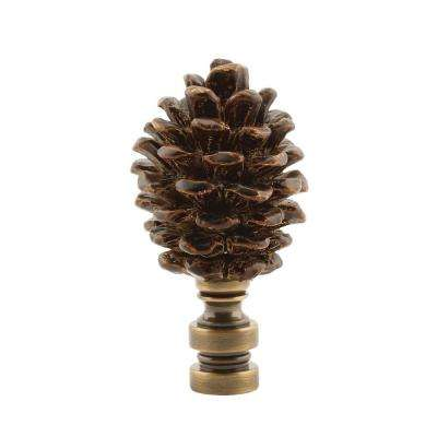 Pinecone Lamp Finial