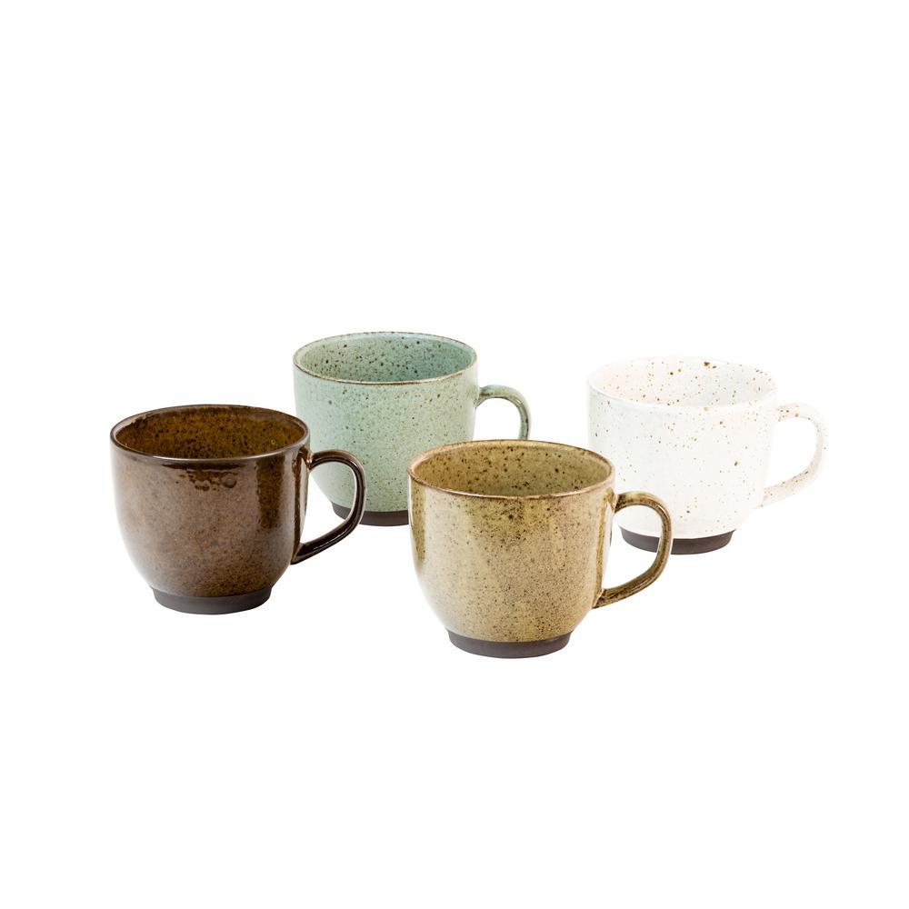 Kudl 4-Piece Assorted Mugs