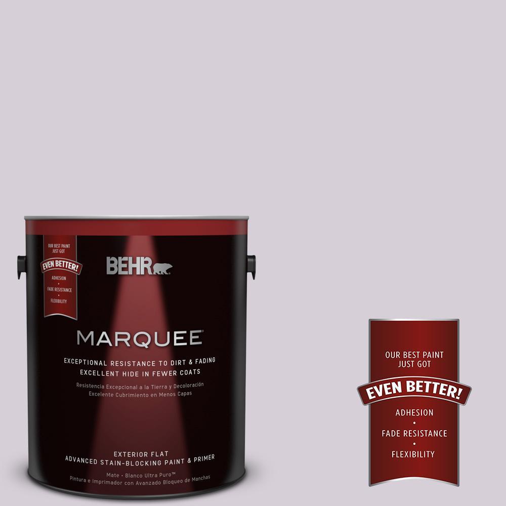 BEHR MARQUEE 1-gal. #670E-3 Lilac Mauve Flat Exterior Paint