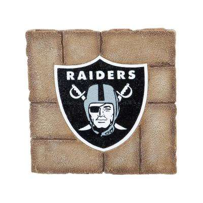 Oakland Raiders 12 in. x 12 in. Decorative Garden Stepping Stone