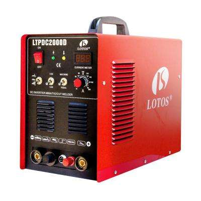 50 Amp Non-Touch Pilot Arc Plasma Cutter, 200 Amp TIG/Stick Welder 3-in-1 Combo Welding Machine, Dual Voltage 110V/220V