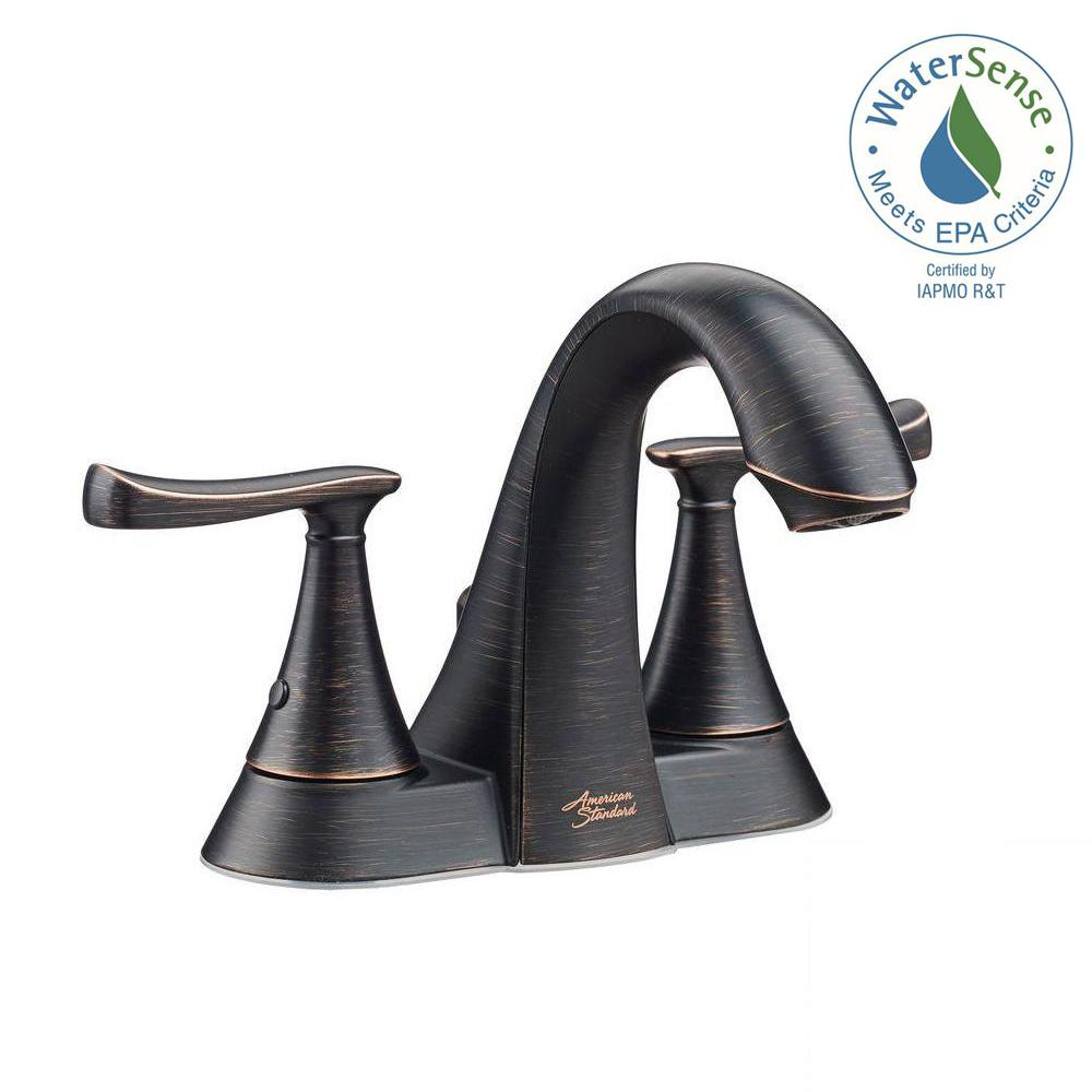 Bronze - Centerset Bathroom Sink Faucets - Bathroom Sink Faucets ...