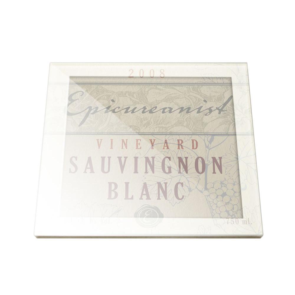 Wine Label Coasters (Set of 4)