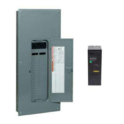 QO 200 Amp 42-Space 42-Circuit Indoor Main Breaker Qwik-Grip Plug-On Neutral Load Center with Surge SPD Value Pack