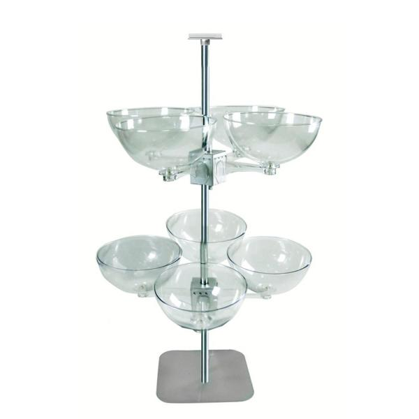 Quad Arm 14 in. Bowl Tower Eight Bowl