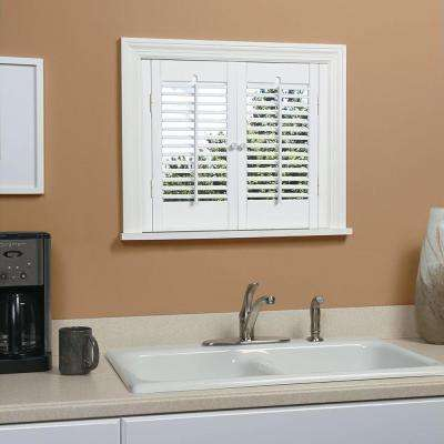 Interior Plantation Shutters Home Depot faux wood plantation shutters decorating and design inexpensive interior plantation shutters home depot Traditional Real Wood Snow Interior Shutter Price Varies By Size
