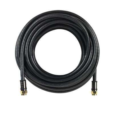 50 ft. RG-6 Coaxial Cable - Black