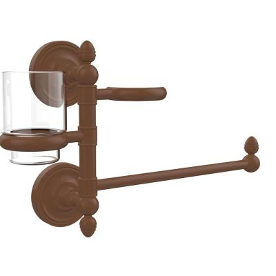 Prestige Regal Collection Hair Dryer Holder and Organizer in Antique Bronze