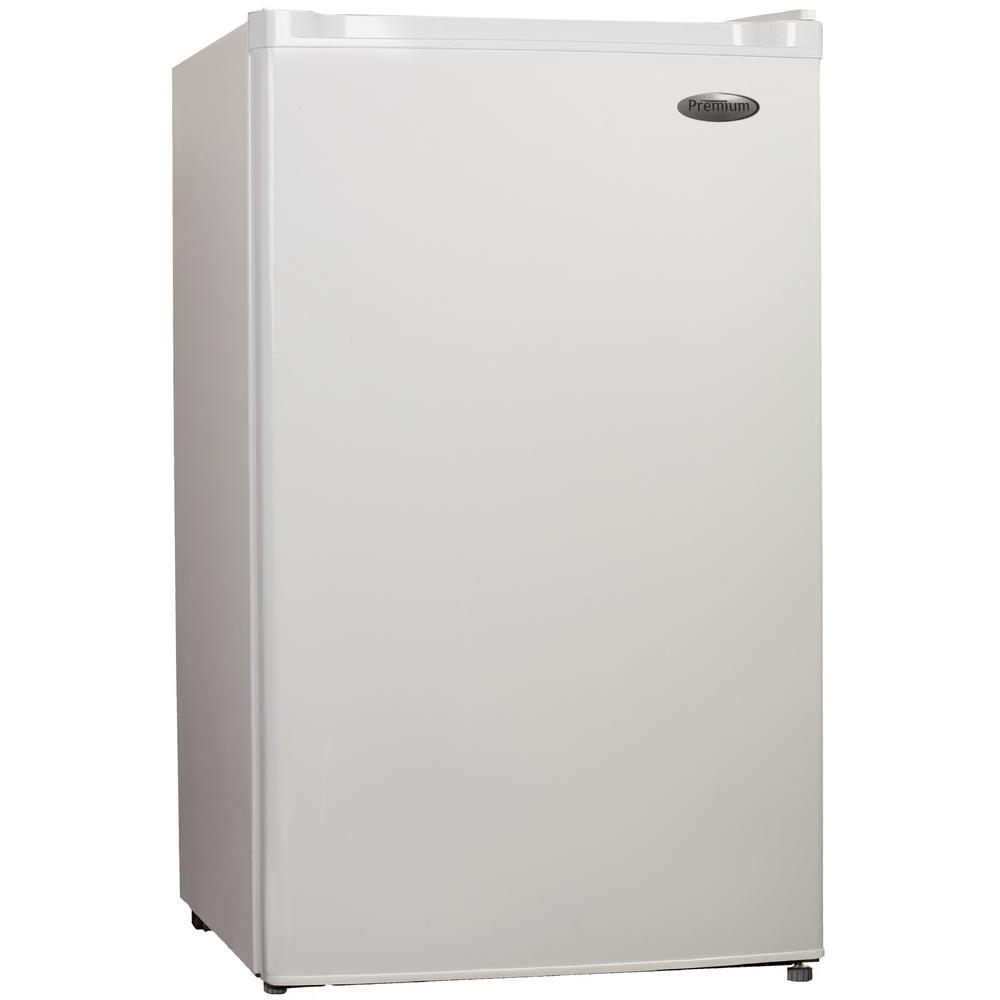 PREMIUM 3.0 cu. ft. Upright Freezer in White