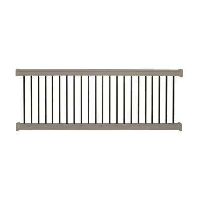 Vilano 3 ft. H x 6 ft. W Vinyl Khaki Railing Kit