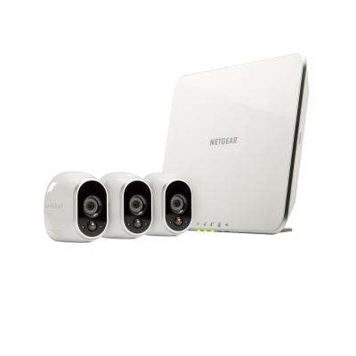 Arlo Smart Home Wireless 1280TVL Indoor/Outdoor 3 HD Security Camera with Night Vision