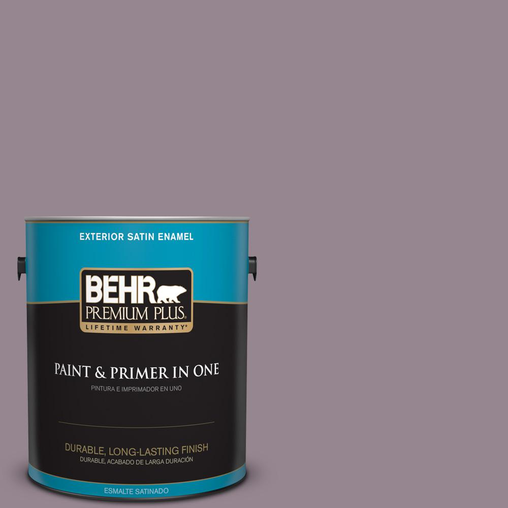 1 gal. #MQ1-32 Cinema Screen Satin Enamel Exterior Paint and Primer