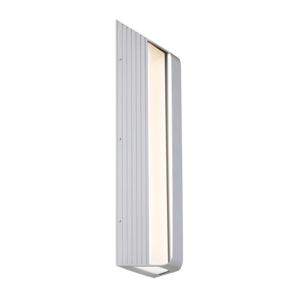 George Kovacs Launch 1-Light Sand Silver LED Outdoor Light Sconce